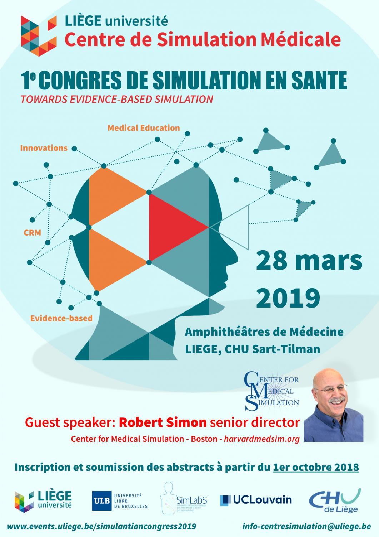 """Résultat de recherche d'images pour """"congrès du centre de simulation de l'université de Liège"""""""